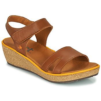 Boty Ženy Sandály Art CAPRI Hnědá