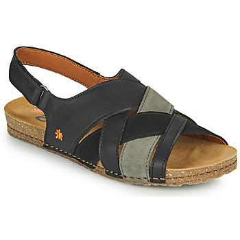 Boty Ženy Sandály Art CRETA Černá
