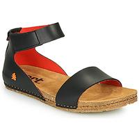 Boty Ženy Sandály Art CRETA Černá / Červená