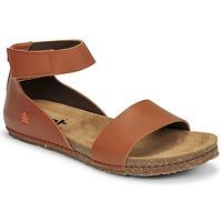 Boty Ženy Sandály Art CRETA Hnědá