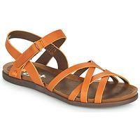 Boty Ženy Sandály Art LARISSA Hnědá