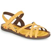 Boty Ženy Sandály Art LARISSA Žlutá