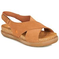 Boty Ženy Sandály Art RHODES Hnědá