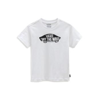 Textil Děti Trička s krátkým rukávem Vans VANS CLASSIC TEE Bílá