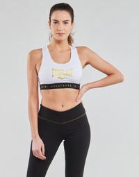 Textil Ženy Sportovní podprsenky Everlast EVL BRAND BR Bílá / Zlatá