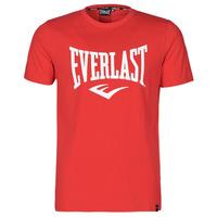 Textil Muži Trička s krátkým rukávem Everlast EVL- BASIC TEE-RUSSEL Červená