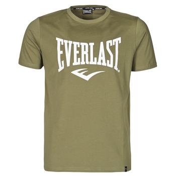 Textil Muži Trička s krátkým rukávem Everlast EVL- BASIC TEE-RUSSEL Khaki