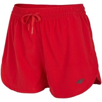 Textil Ženy Kraťasy / Bermudy 4F SKDT004 Červené