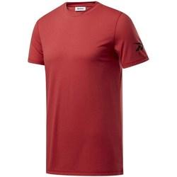 Textil Muži Trička s krátkým rukávem Reebok Sport Wor WE Commercial Tee Vínově červené