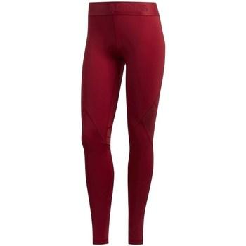 Textil Ženy Legíny adidas Originals Alpha Skin Sport Červené