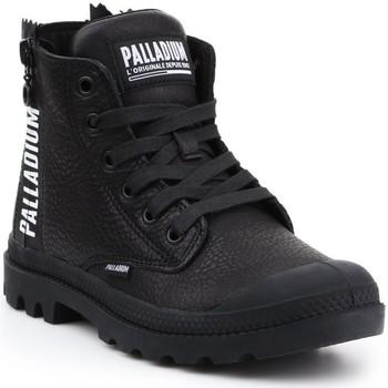 Boty Ženy Kotníkové tenisky Palladium Manufacture Pampa UBN ZIPS 96857-008-M black