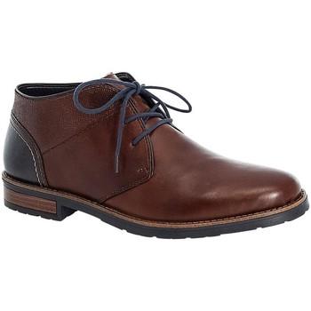 Boty Muži Kotníkové boty Rieker Dustin Nut Navy Brown