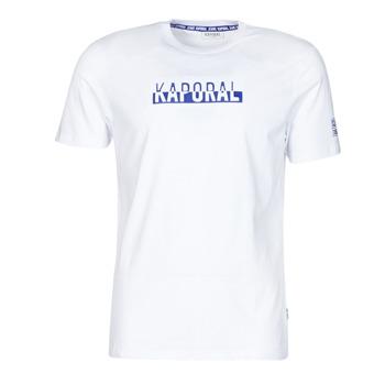 Textil Muži Trička s krátkým rukávem Kaporal DINO Bílá