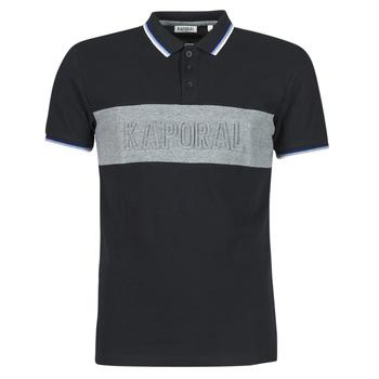 Textil Muži Polo s krátkými rukávy Kaporal DIAM Černá