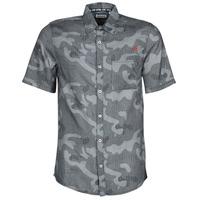 Textil Muži Košile s krátkými rukávy Kaporal SID Tmavě modrá