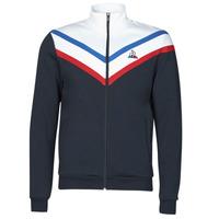 Textil Muži Teplákové bundy Le Coq Sportif TRI FZ N°1 M Tmavě modrá
