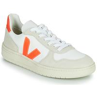 Boty Nízké tenisky Veja V-10 Bílá / Oranžová