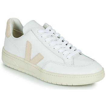 Boty Nízké tenisky Veja V-12 Bílá / Béžová