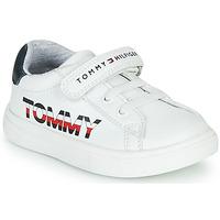 Boty Děti Nízké tenisky Tommy Hilfiger MARILO Bílá