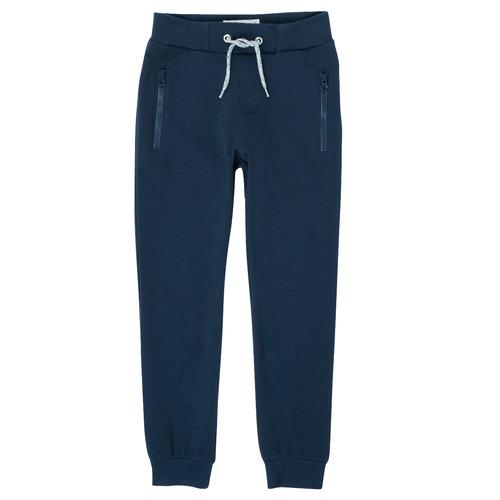 Textil Chlapecké Teplákové kalhoty Name it NKMHONK Tmavě modrá