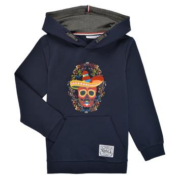 Textil Chlapecké Mikiny Name it NKMTUMBO Tmavě modrá