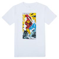 Textil Chlapecké Trička s krátkým rukávem Name it MARVEL Bílá