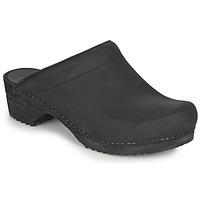 Boty Ženy Pantofle Sanita CHRISSY Černá