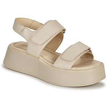 Boty Ženy Sandály Vagabond Shoemakers COURTNEY Béžová