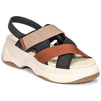 Boty Ženy Sandály Vagabond Shoemakers ESSY Bílá / Rezavá / Černá