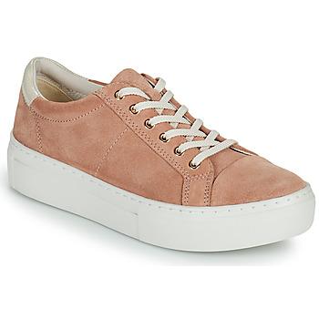 Boty Ženy Nízké tenisky Vagabond Shoemakers ZOE PLATFORM Růžová