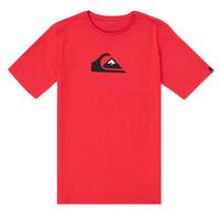 Textil Chlapecké Trička s krátkým rukávem Quiksilver COMP LOGO Červená