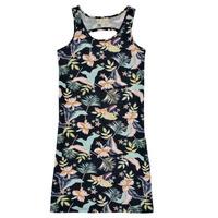 Textil Dívčí Krátké šaty Roxy FLOWER SHADOW DRESS Černá