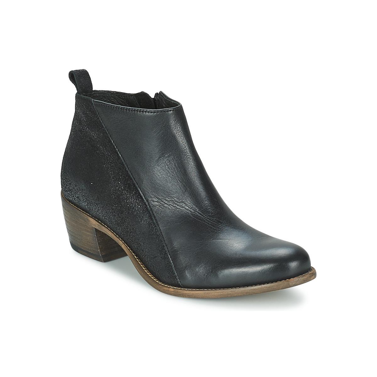 Kotnikove boty Betty London INTRO Černá