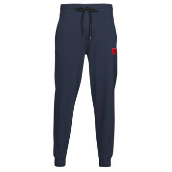 Textil Muži Teplákové kalhoty HUGO DOAK Tmavě modrá