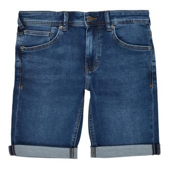 Textil Chlapecké Kraťasy / Bermudy Teddy Smith SCOTTY 3 Modrá