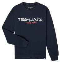 Textil Chlapecké Mikiny Teddy Smith S-MICKE Tmavě modrá