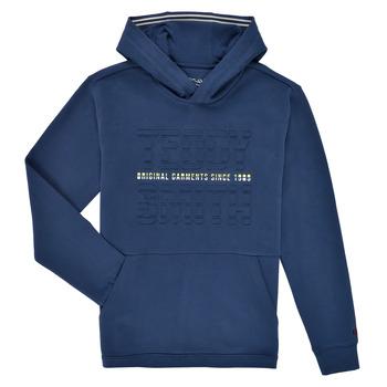 Textil Chlapecké Mikiny Teddy Smith S-RUN HOODY Tmavě modrá