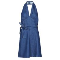 Textil Ženy Krátké šaty Molly Bracken EL902P21 Modrá