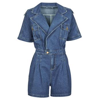 Textil Ženy Overaly / Kalhoty s laclem Molly Bracken EL1261P21 Modrá