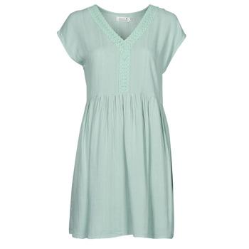 Textil Ženy Krátké šaty Molly Bracken G801E21 Zelená / Světlá