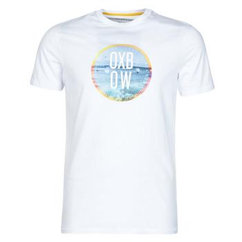Textil Muži Trička s krátkým rukávem Oxbow N1TERO Bílá