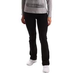 Textil Ženy Teplákové kalhoty Key Up 5LI20 0001 Černá