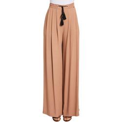 Textil Ženy Turecké kalhoty / Harémky Gaudi 011FD25019 Hnědý