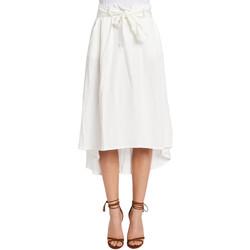 Textil Ženy Sukně Gaudi 011FD75012 Bílý