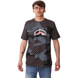 Textil Muži Trička s krátkým rukávem Sprayground SP01820BLA Černá