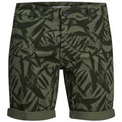 Textil Muži Kraťasy / Bermudy Produkt Takm chino 12171311 Zelená