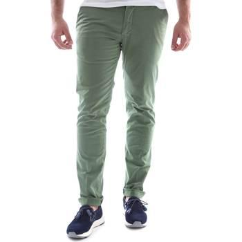 Textil Muži Mrkváče Sei3sei 6OYSTER E1648 Zelený