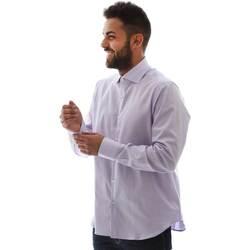 Textil Muži Košile s dlouhymi rukávy Gmf GMF5 4728 961105/04 Růžový