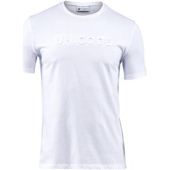 Textil Muži Trička s krátkým rukávem Lumberjack CM60343 001 508 Bílý