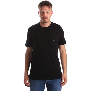 Textil Muži Trička s krátkým rukávem Calvin Klein Jeans K10K103076 Černá